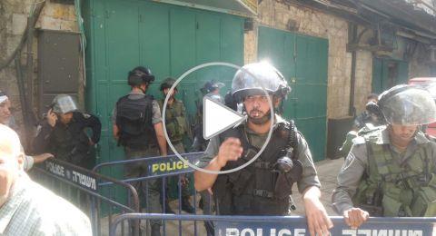 الشرطة الاسرائيلية تعتقل 15 مُصلياً داخل المسجد الأقصى