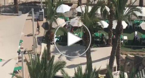ايلات: شجار عنيف بين نزلاء احد الفنادق