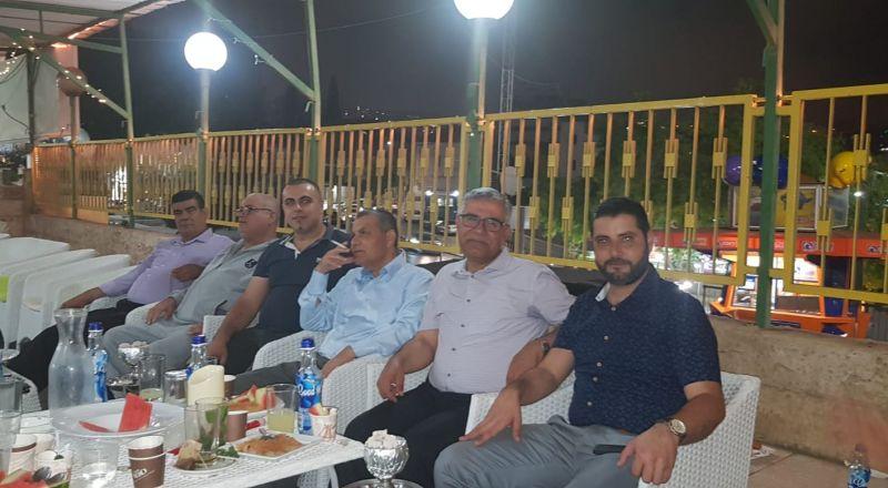 لجنة الموظفين في بستان المرج تنظم افطارًا جماعيًا لموظفي المجلس