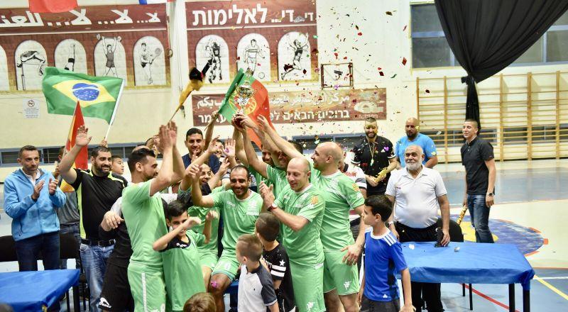 تتويج جباليا حامل كأس بطولة الناصرة للقدامى النجوم
