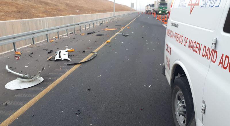 حادثان مروعان: دهس فتاتين قرب ساجور، وإصابة 3 بحادث قرب اللقية بالجنوب