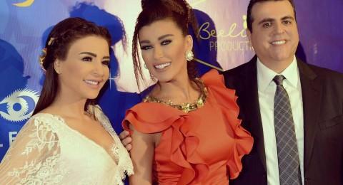 نادين الراسي تخطف الأضواء في حفل سحور ماجي أبو غصن وزوجها