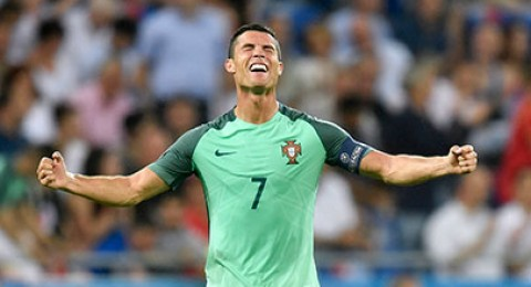 البرتغال على بعد خطوة من لقب كأس اوروبا