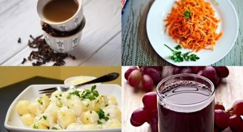 أطباق رمضانية: سلطة الجزر، معكرونة بالجبن وجلاب بالزعفران