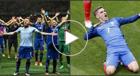 الليلة في يورو 2016..مواجهة قوية بين فرنسا وأيسلندا