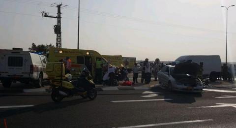 النقب: حادث طرقات دامي يسفر عن قتيلين ومصابين!