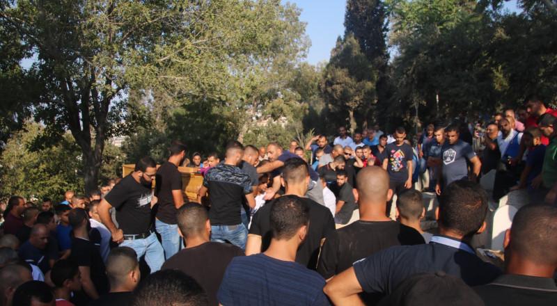 جريمة تلو الأخرى .. أم الفحم تشيّع ضحية جريمة القتل،  أحمد اغبارية