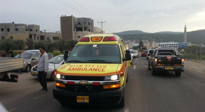 اصابة 3 فلسطينيين بحادث عمل في مستوطنة بركان