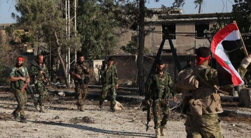 احتفالات في سورية .. الجيش السوري يكسر حصار