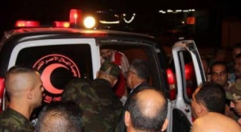 تسليم جثماني الشهيدين الصالحي وقتية زهران
