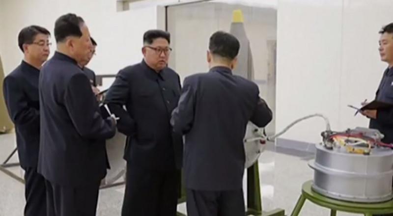 كوريا الشمالية تكشف عن سلاحها النووي التدميري