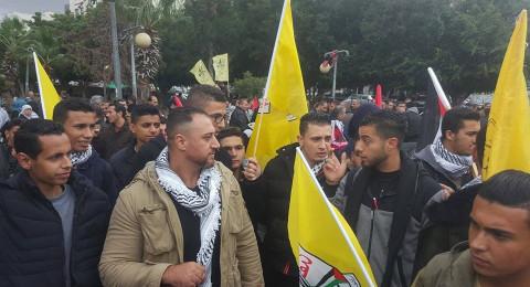 مسيرات غاضبة في المدن الفلسطينية تنديدا بنية ترامب الاعتراف بالقدس عاصمة لإسرائيل