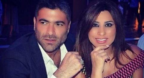 نجوى كرم ووائل كفوري معًا في مطار دبي