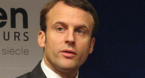 ماكرون الفرنسي يعبّر بالعبرية عن رفضه قرار ترمب