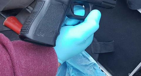 العثور على أسلحة في منزل ببلدة جلجولية