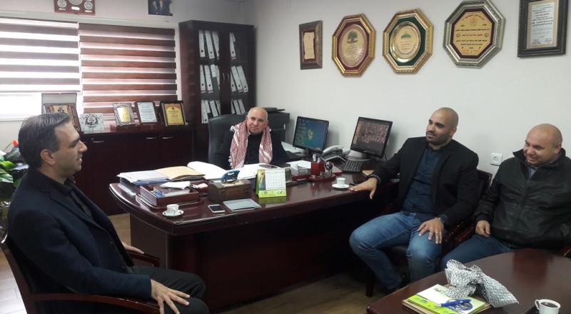زيارة السيد أشرف جبور مدير برنامج