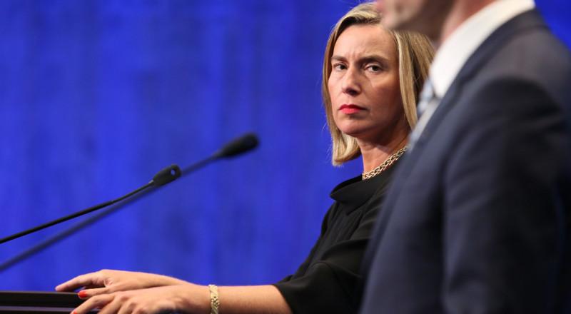 الاتحاد الأوروبي قلق من قرار ترامب حول القدس ويؤكد تمسكه بحل الدولتين