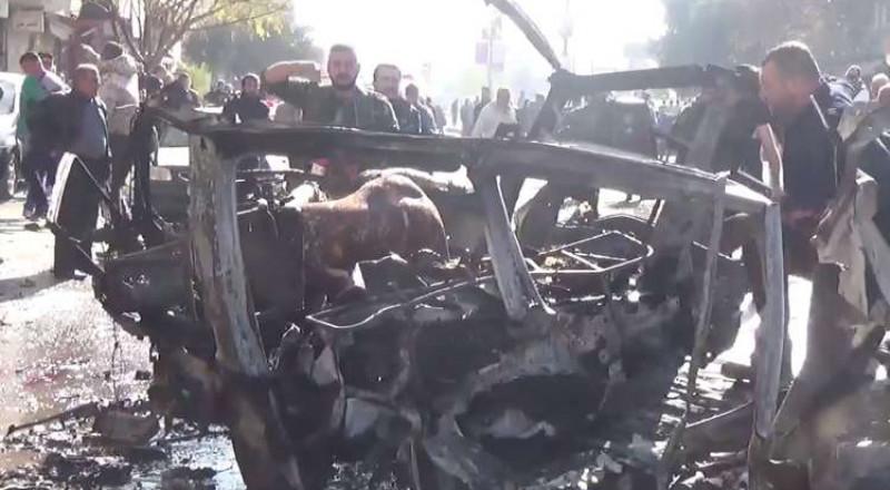 حمص: 8 قتلى و15 جريحا جراء تفجير تبناه
