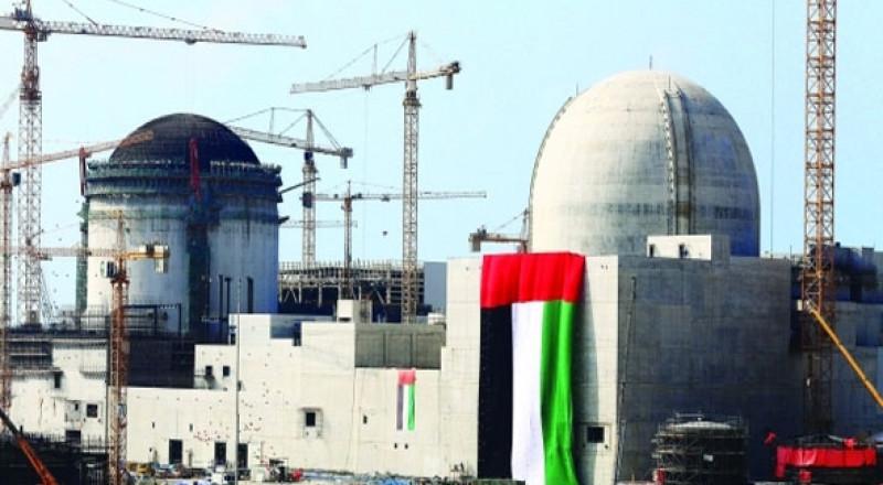 صاروخ يمني على مفاعل براكة النووي في أبو ظبي
