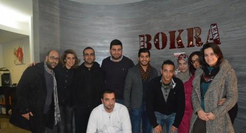 هيثم خلايلة نجم Arab Idol يزور مكاتب