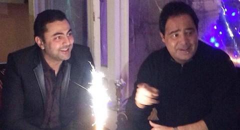 محمد كريم يحتفل بعيد ميلاده مع اصدقائه المقربين في بيروت