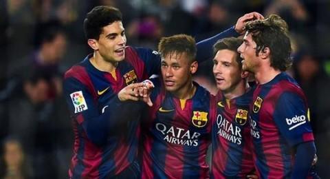 برشلونة يصالح جمهوره بخماسية في شباك التشي
