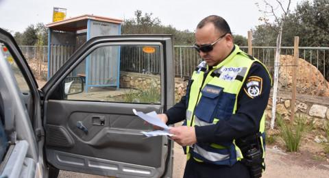 شرطة السير في المغار: 142 مخالفة!