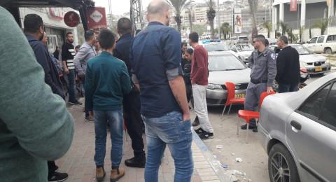 شاب فحماوي يغمى عليه بعد مطاردة الشرطة له