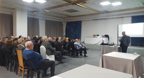 مستشفى الناصرة الإنجليزي في محاضرة بموضوع السكتة الدماغية لأعضاء نادي الروتاري في الناصرة