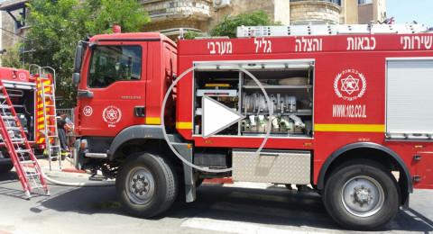 تل ابيب: انفجار اسطوانات غاز، وإخلاء مبان