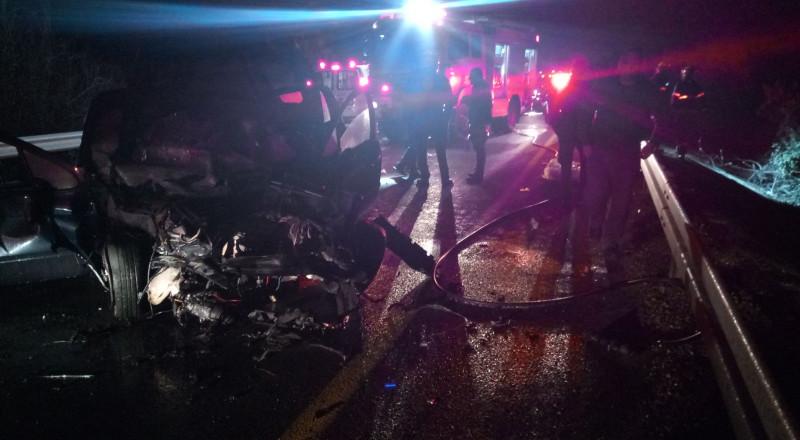 قتيلان و3 جرحى كلهم عرب بحادث وانفجار سيارة قرب مفترق الكابري