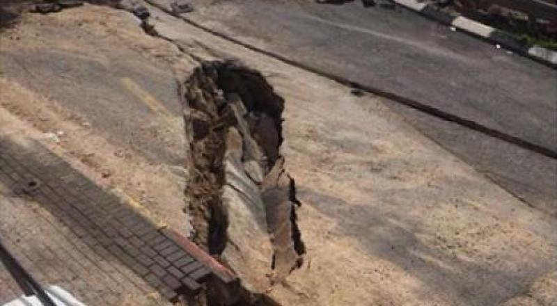 بلدية الناصرة: وصلنا إلى تفاهمات لبدء تصليح شارع الفاخورة المنهار