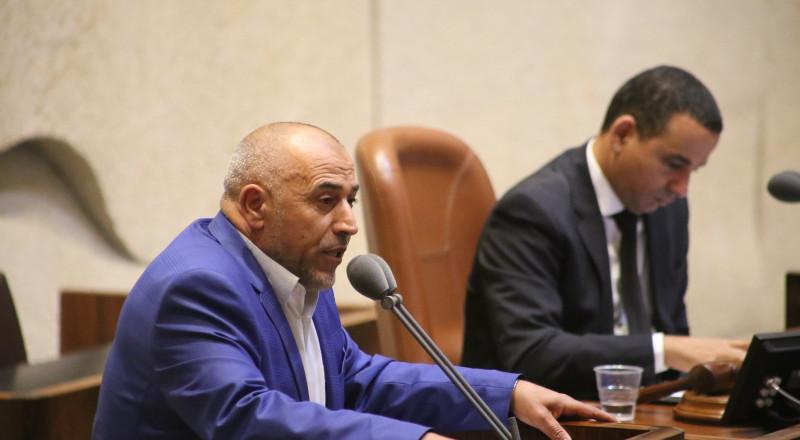 بمبادرة النائب طلب ابو عرار الكنيست ستصوت الاربعاء القريب على تشكيل لجنة تحقيق برلمانية حول مخاطر اقامة منجم برير