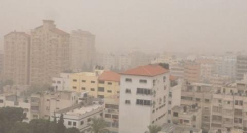 أجواء غائمة ومغبرة والحرارة أعلى من معدلها السنوي