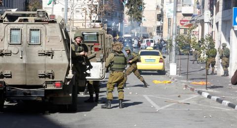 الخليل: انباء عن استشهاد شاب في مواجهات مع الجيش