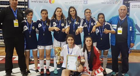 فريق سخنين للبنات من مدرسة جمال طربيه سيمثّل دولة إسرائيل في البطولة .