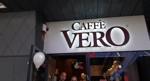 افتتاح ثالث فرع لشبكة مقاهي vero في كرمئيل
