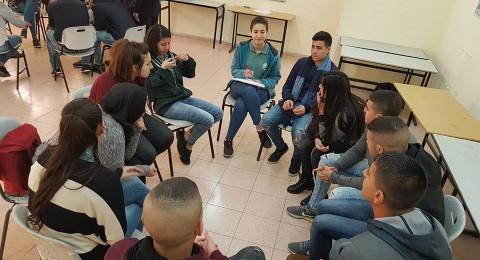جمعية انماء تنظم ورشات عمل متعددة في مشروع اعداد القادة الشباب