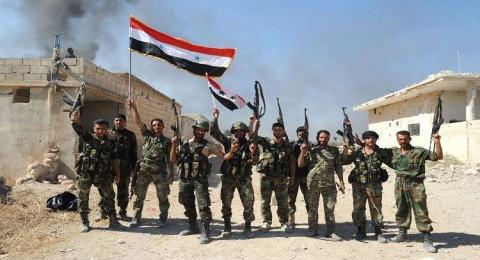 الجيش السوري يتقدم على محاور في الغوطة الشرقية