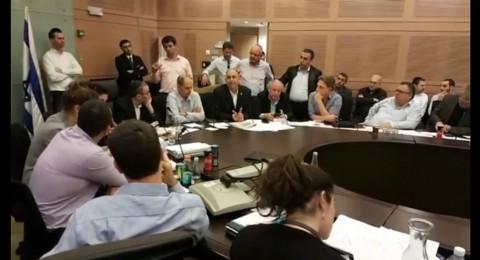 اعضاء المعارضة والائتلاف بصوت واحد يؤيدون طلب بلدية اللد ويلزمون مطار بن غوريون دفع 20 مليون شيكل ارنونا