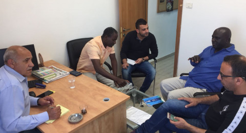 النائب الزبارقة يجتمع بمدراء أقسام الرياضة في المجالس المحلية بالنقب