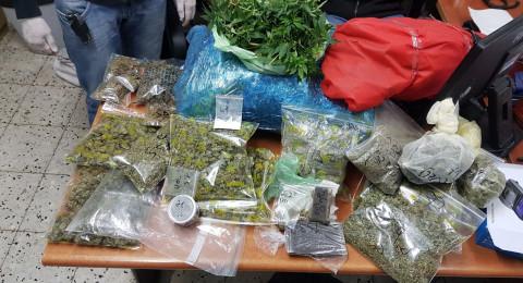 ضبط مختبر لتنمية وترويج مخدرات قرب كفار سابا