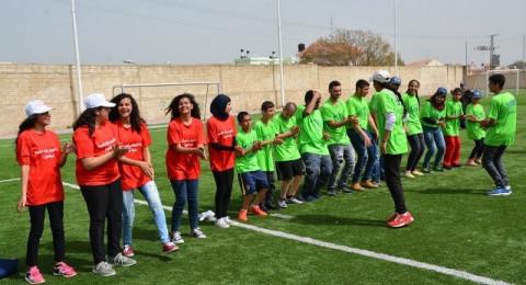 يوم رياضي مُميز لطلاب مدرسة المنار للتعليم الخاص بمشاركة شبيبة وحدة نهوض الطيرة