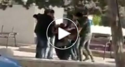 مستعربون يختطفون رئيس مجلس طلبة بيرزيت من داخل الحرم الجامعي