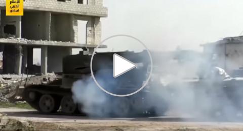 الجيش السوري يطبق الحصار على دوما وحرستا في الغوطة الشرقية