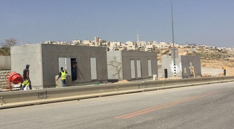 اسرائيل تشرع ببناء معبر جديد في مدينة القدس