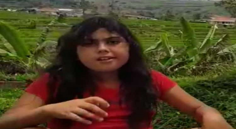 طفلة سعودية تبحث عن أهلها في إندونيسيا