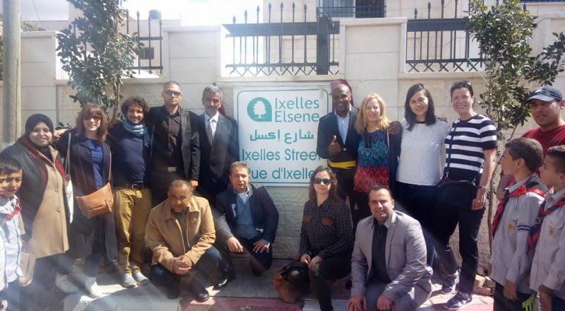 بلدية الزبابدة بجنين تحتفل بافتتاح شارع رئيسي في البلدة
