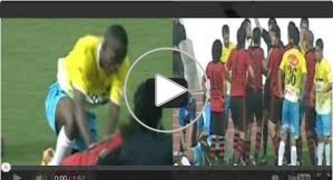 في الدوري المصري.. سيارة الإسعاف تدهس لاعباً.. ومعركة بالأيدي والأقدام