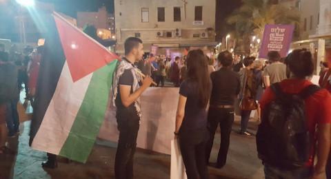 حيفا: مظاهرة عربية يهودية صاخبة ضد الاحتلال والفاشية